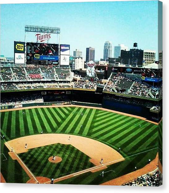 Minnesota Twins Canvas Print - Boys Of Summer by Mnwx Watcher