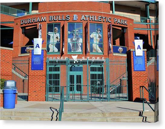 Baseball Stadium Canvas Print
