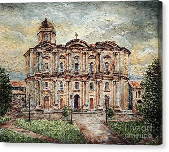 Basilica De San Martin De Tours Canvas Print