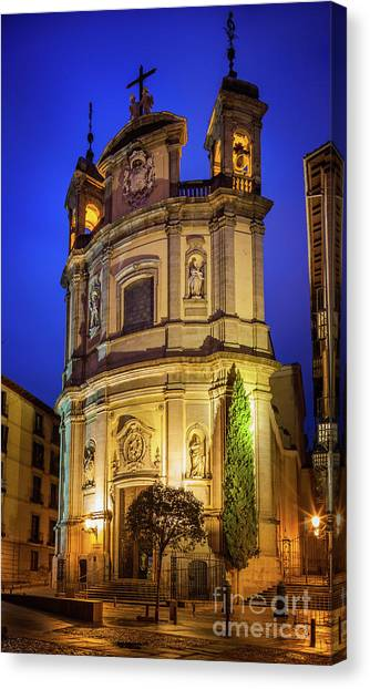 Europa Canvas Print - Basilica De San Miguel by Inge Johnsson
