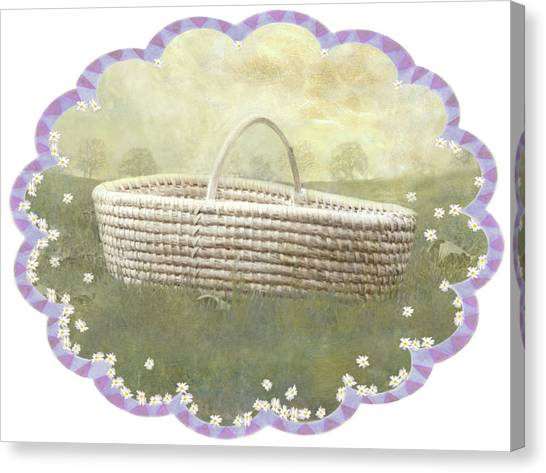 Basket Canvas Print