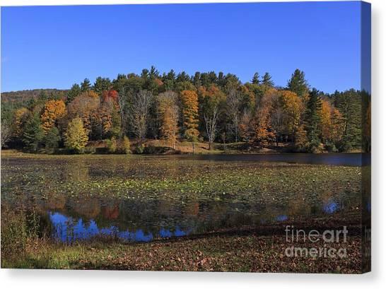 Moses Cone Canvas Print - Bass Lake At Blowing Rock, North Carolina by Jill Lang