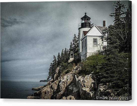 Bass Lighthouse Maine Canvas Print