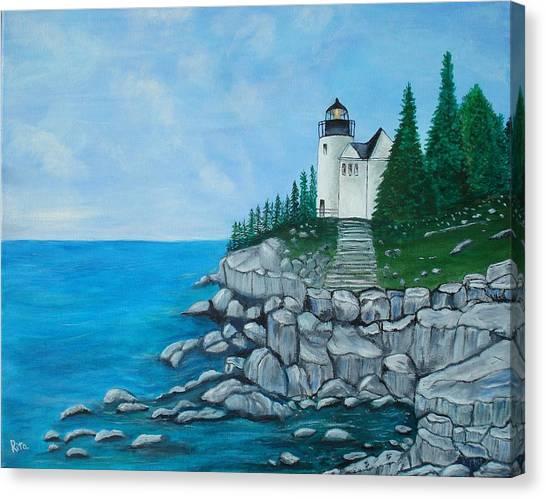 Bass Lighthouse Canvas Print