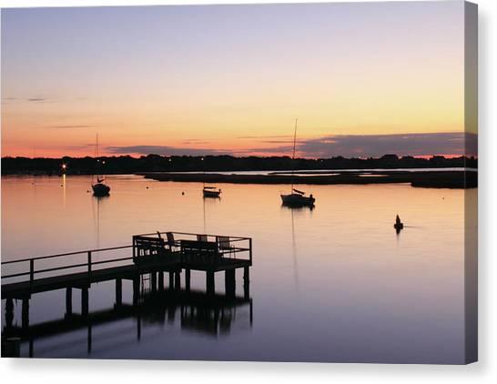Bass River Before Sunrise Canvas Print