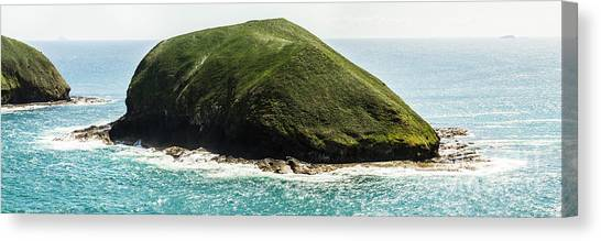 Canvas Print featuring the photograph Bass Strait Island Wilderness by Jorgo Photography - Wall Art Gallery