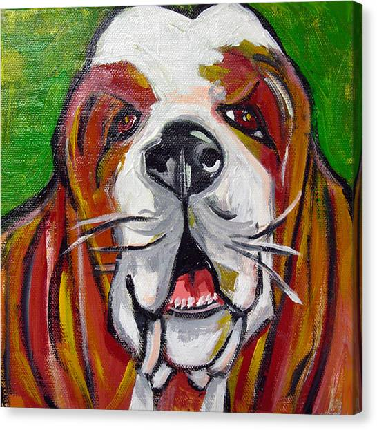 Basset Hound Canvas Print by Ilene Richard