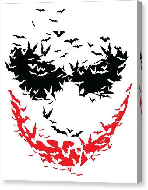 Bat Face Canvas Print