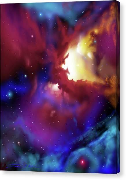 Bat Nebula Canvas Print