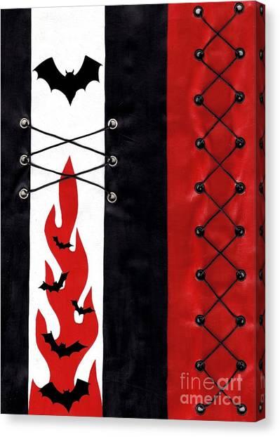 Bat Outa Hell Canvas Print