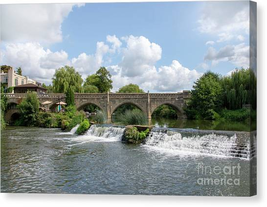 Stamford Bridge Canvas Print - Bathampton Bridge by Steev Stamford