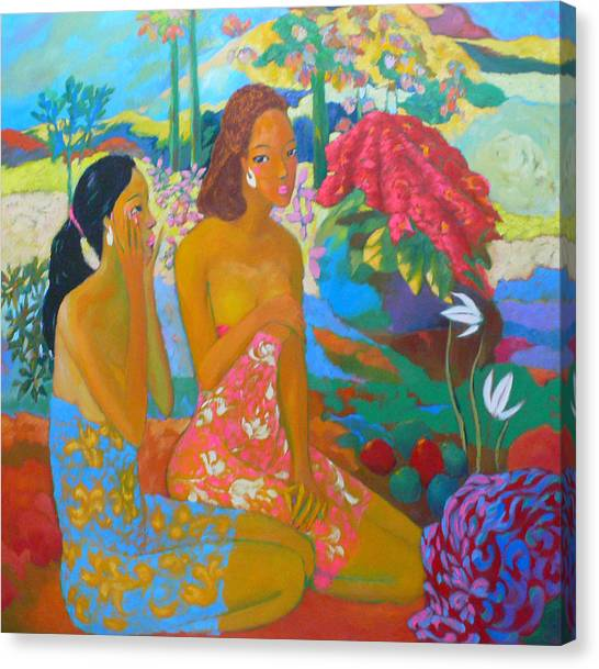 Bathing7 Canvas Print by Tung Nguyen Hoang