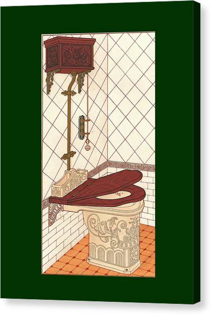 Bathroom Picture One Canvas Print