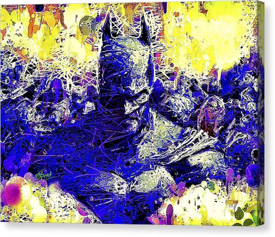 Batman 2 Canvas Print