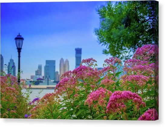 Battery Park Blooms Canvas Print