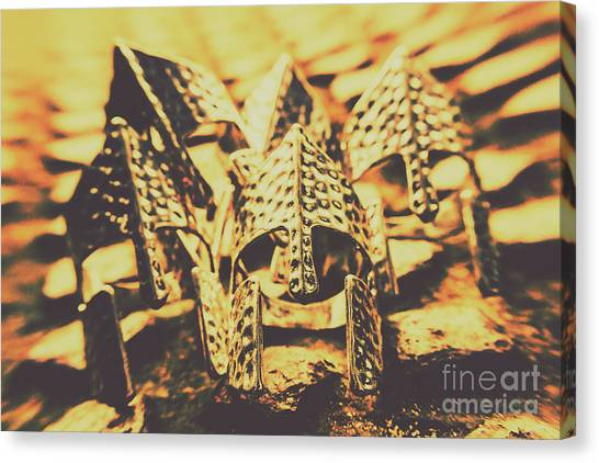 Crusade Canvas Print - Battle Armoury by Jorgo Photography - Wall Art Gallery