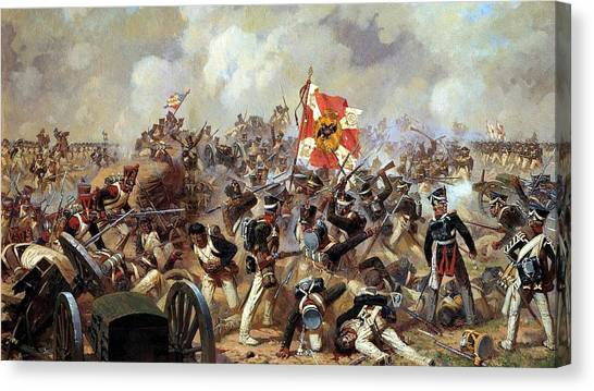 Old Age Canvas Print - Battle Of Borodino by Super Lovely