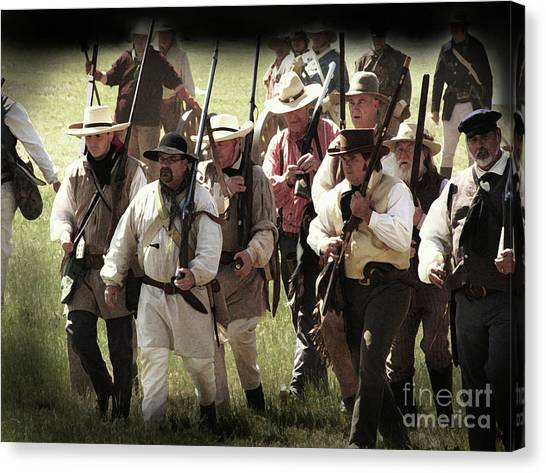 Battle Of San Jacinto Canvas Print
