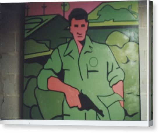 Battle Veteran Canvas Print by James Larson