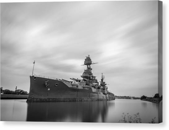 Battleship Texas Canvas Print