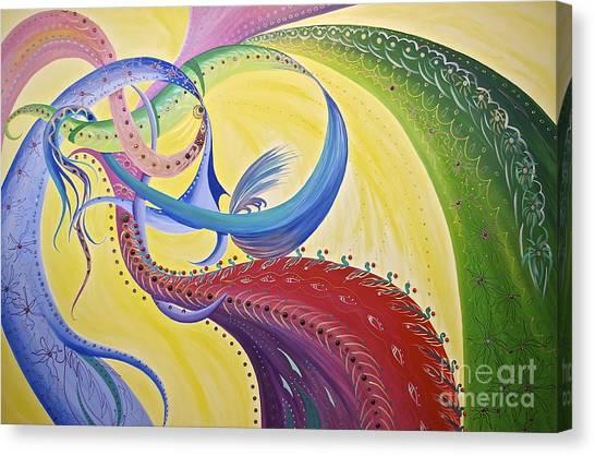 Baubles N Bows Canvas Print
