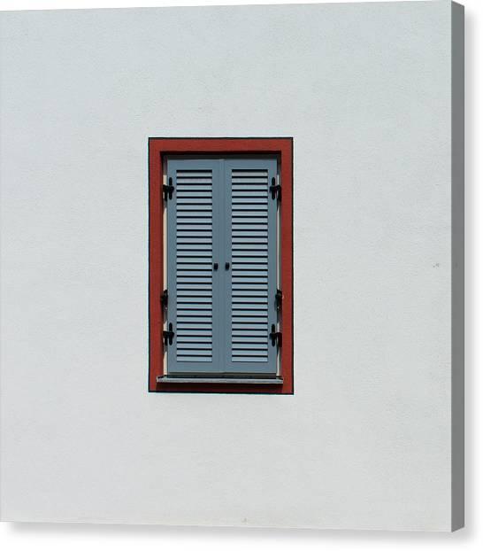 Bavarian Windows 5 Canvas Print