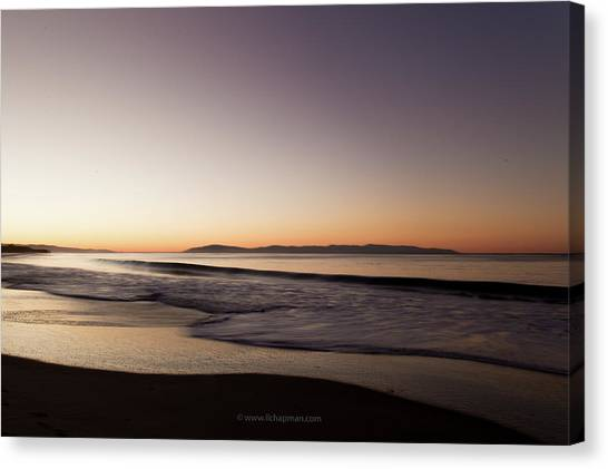 Bay At Sunrise Canvas Print