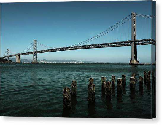 Canvas Print - Bay Bridge  by The Artist Project