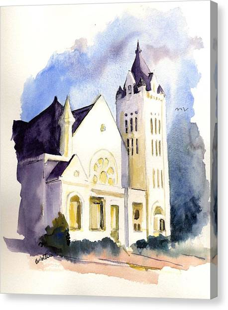 Bay Street Presbyterian Church Canvas Print