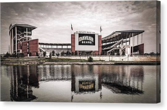 Football Stadium Sketch Canvas Print