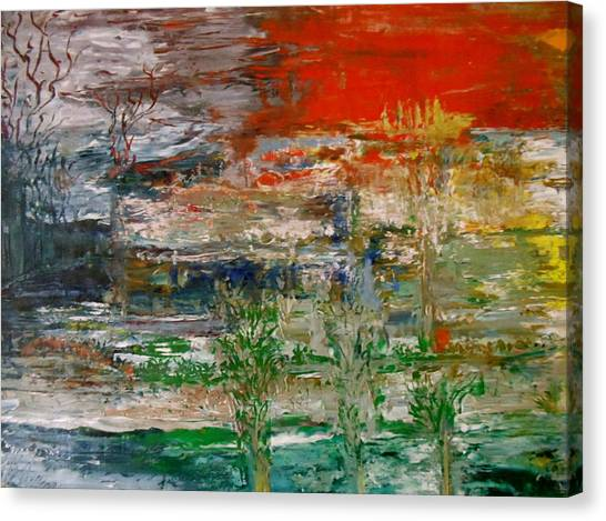 Bayou Lafourche Canvas Print