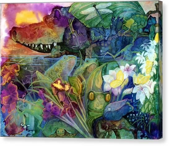 Bayou Magic Canvas Print by Valerie Aune