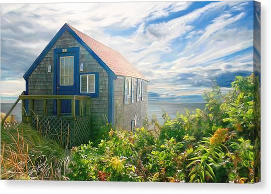 Bayside Retreat Canvas Print