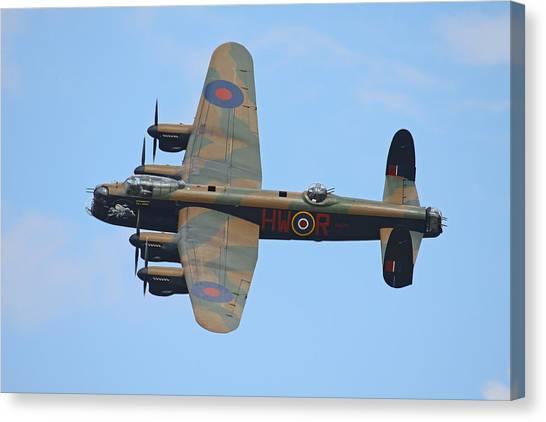Bbmf Lancaster Bomber Canvas Print