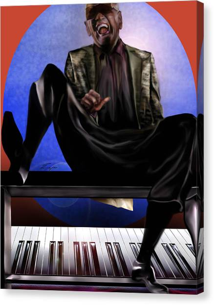 Be Good To Ya - Ray Charles Canvas Print