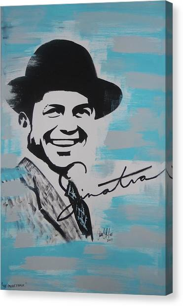 Be Moore Frank Canvas Print
