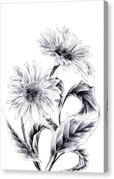 Be My Sun Canvas Print