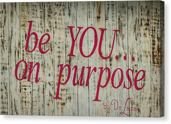 Canvas Print - Be You by Elijah Knight