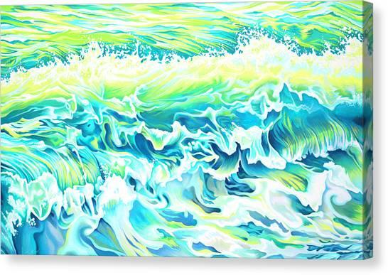 Beach Break Wave Canvas Print