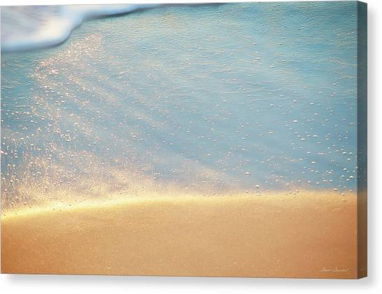 Beach Caress Canvas Print