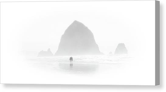 Beach Combers Canvas Print