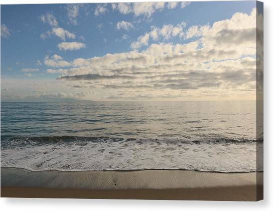 Beach Day - 2 Canvas Print