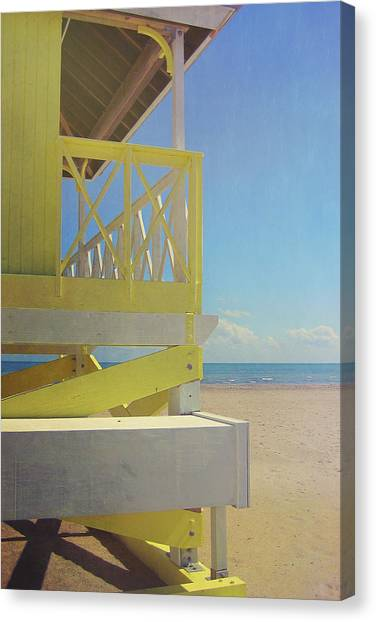Beach Day Canvas Print by JAMART Photography