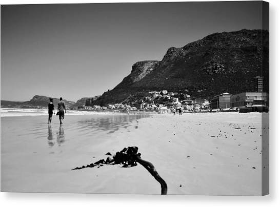 South African Canvas Print - Beach Days by Victoria Clark