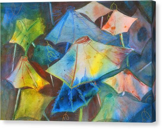 Beach Dreams II Canvas Print by Neva Rossi