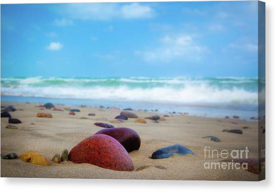 Europa Canvas Print - Beach Dreams In Skagen by Inge Johnsson