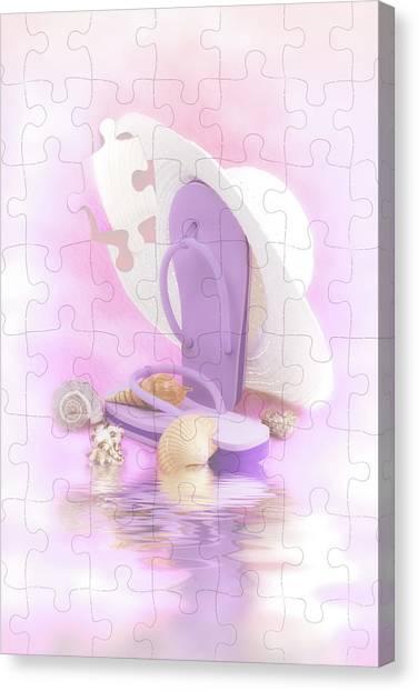 Starfish Canvas Print - Beach Dreams by Tom Mc Nemar