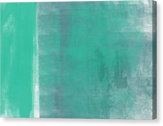 Abstract Designs Canvas Print - Beach Glass 2 by Linda Woods
