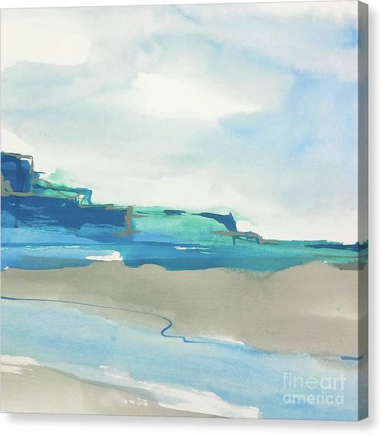 Canvas Print - Beach I by Chris Paschke