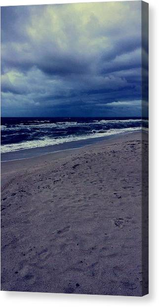 Canvas Print - Beach by Kristina Lebron
